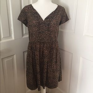 GAP Leopard Dress